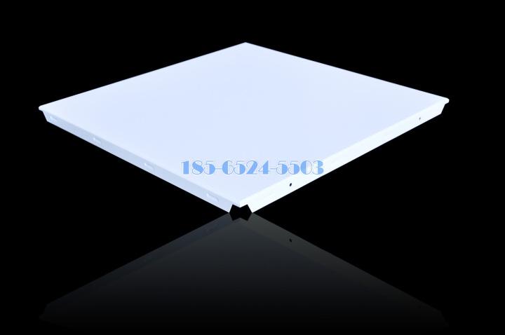 矮边斜角平面铝扣板