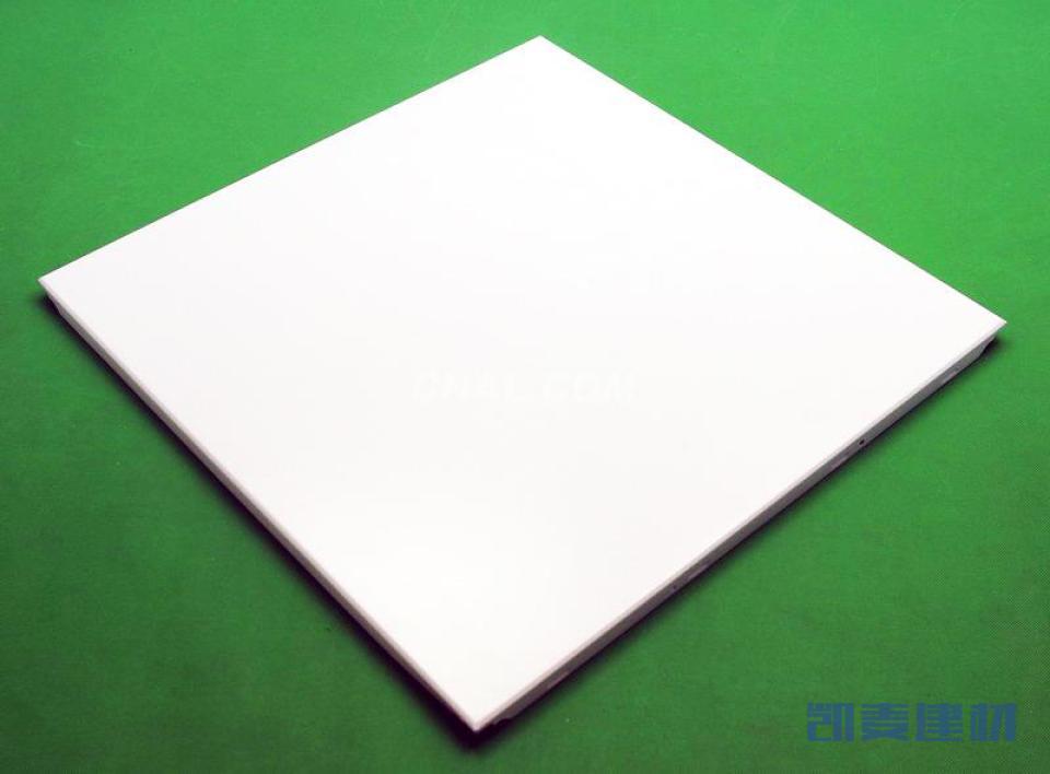 哑光白色暗架方板