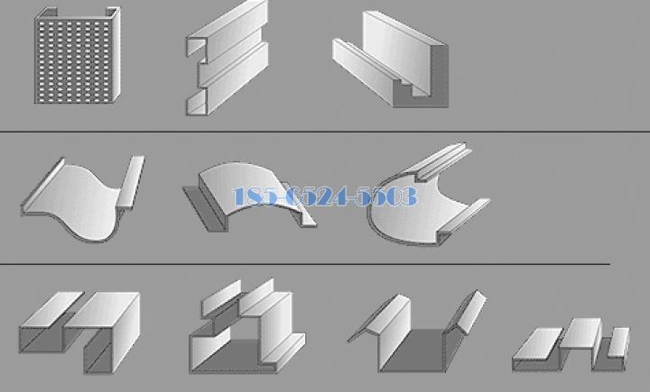 外墙铝板造型分类