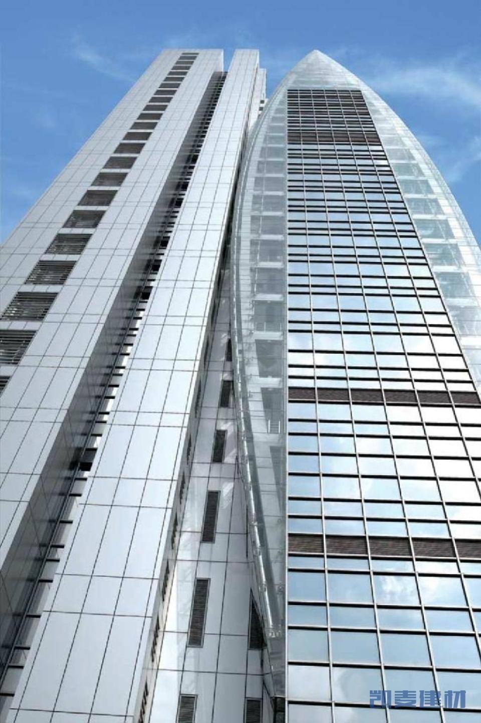香港中銀大廈外墻鋁單板