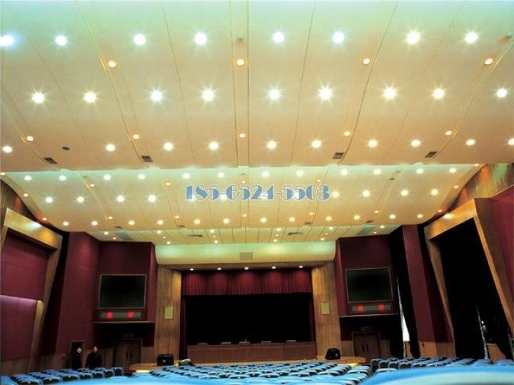 会议报告厅波浪铝板吊顶