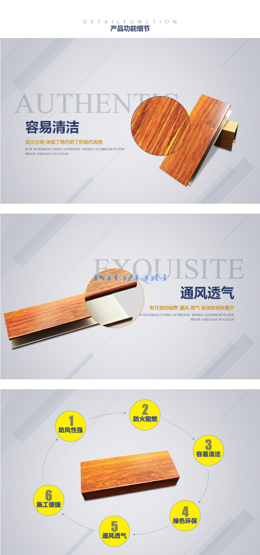 木紋鋁方通標準