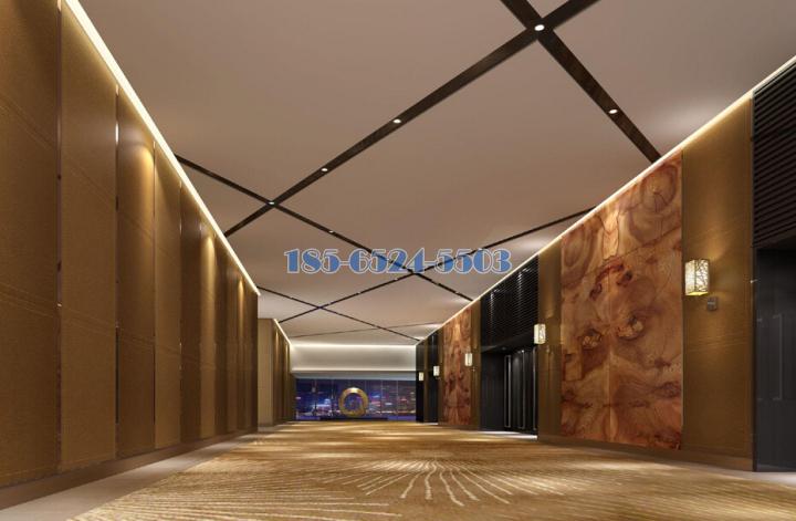 喜來登酒店VIP貴賓部電梯間造型吊頂