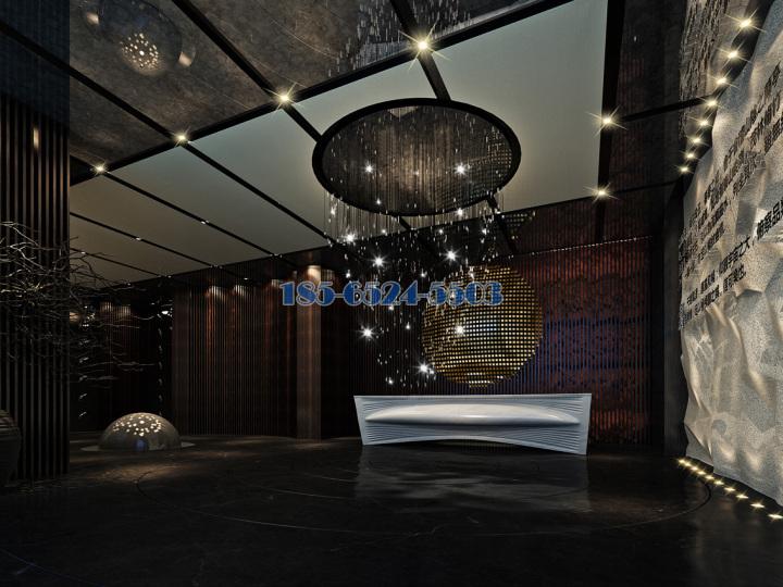 酒吧天花板设计图