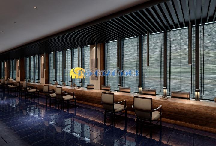 中式铝合金窗花屏风