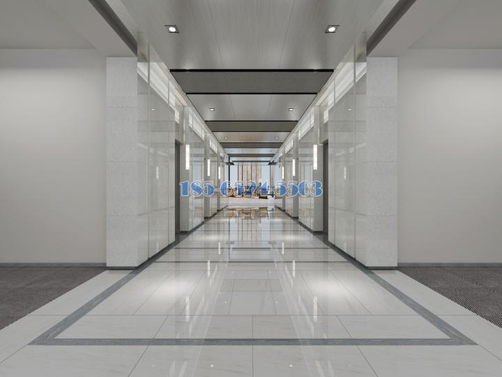 大廳過道次鋁單板和糕級氧化拉絲鋁板