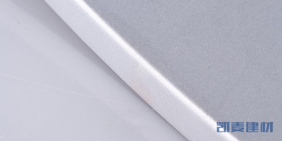 弧形铝板弧边细节图