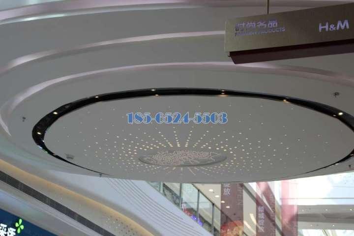 圆盘形冲孔拼花满天星铝单板