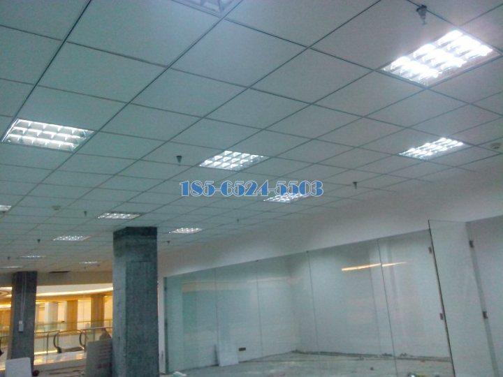 一樓商鋪鋁扣板吊頂