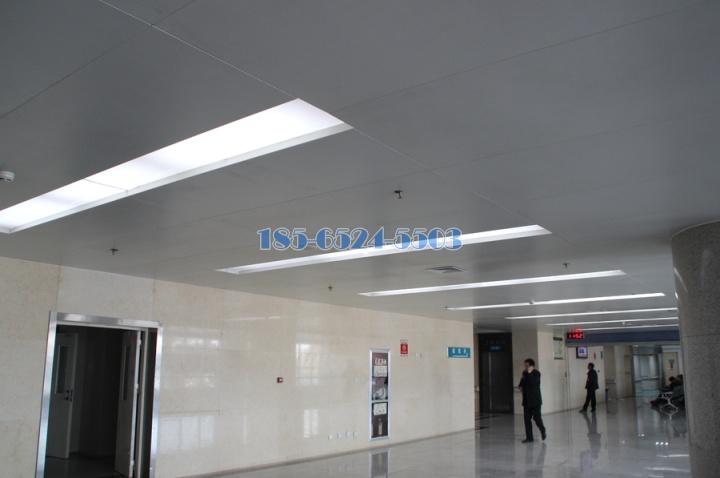 醫院過道吊頂訂鋁單板