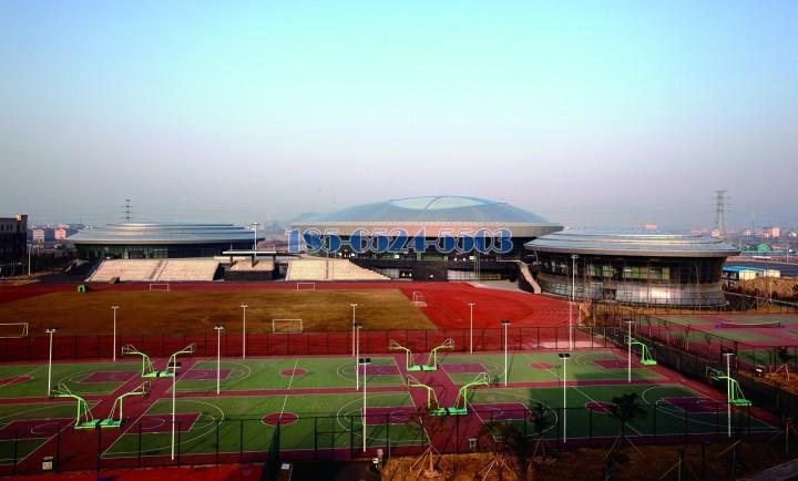體育館和遊泳館造型鋁單板頂面