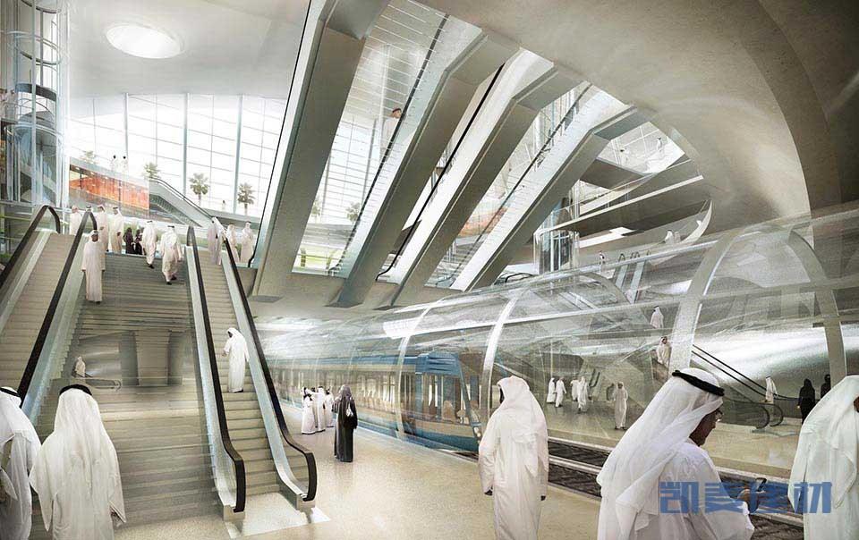 地铁电梯包底铝单板