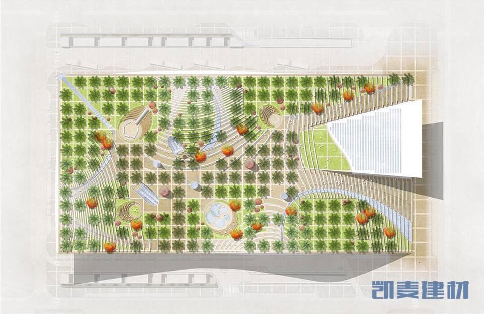 奥拉亚地铁站整体平面图
