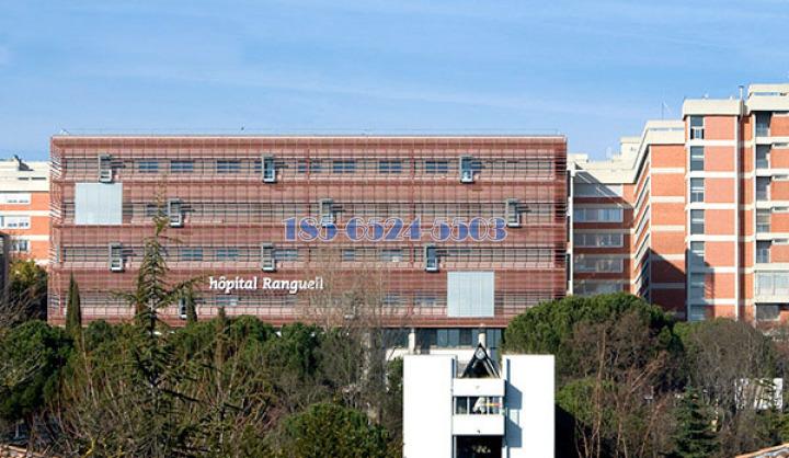 圖盧茲Rangueil醫院鋁板裝飾項目